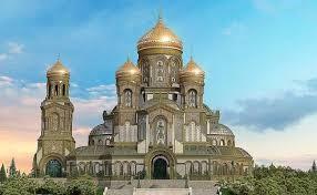 Храм ВС России на день ВМФ