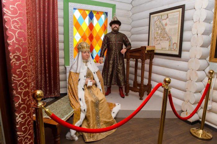 На родину русских цариц